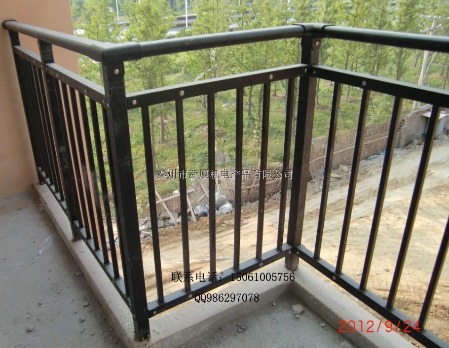 海安阳台护栏 锌钢金属建筑栏杆国家标准