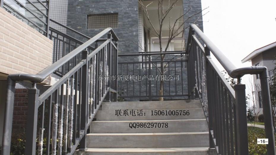 金湖楼梯厂家,建筑消防通道楼梯扶手,锌钢