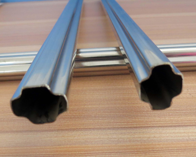 供应防护窗专用异型管 防盗窗异型管