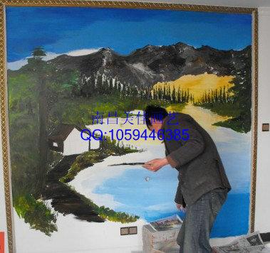 抚州彩绘|文化墙|涂鸦|3d立体画彩绘手绘!