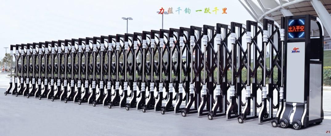 姜堰电动伸缩门 厂家价格批发 自动遥控大门