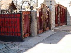 北京朝阳区铁艺大门 铁艺围栏 价格优惠