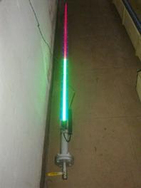 供应LED磁敏双色光柱磁翻板液位计