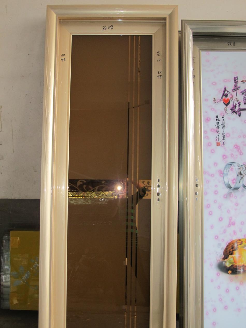 河北石家庄钛镁合金门厨房卫生间阳台玻璃门