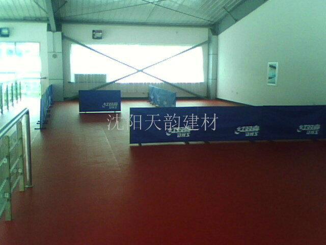 沈阳体育馆专项使用运动地胶厂家