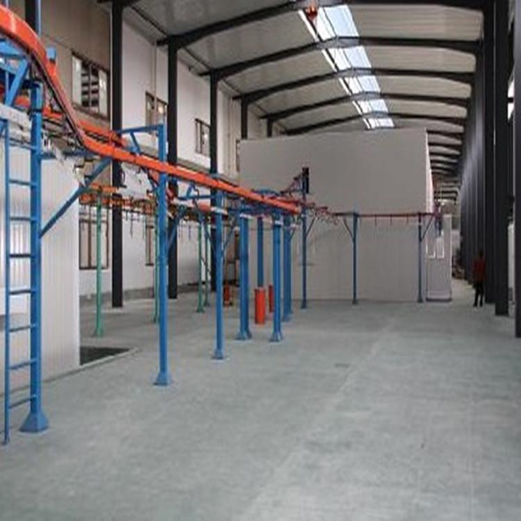 粉末喷涂生产线|悬挂式喷涂线|粉体涂装线