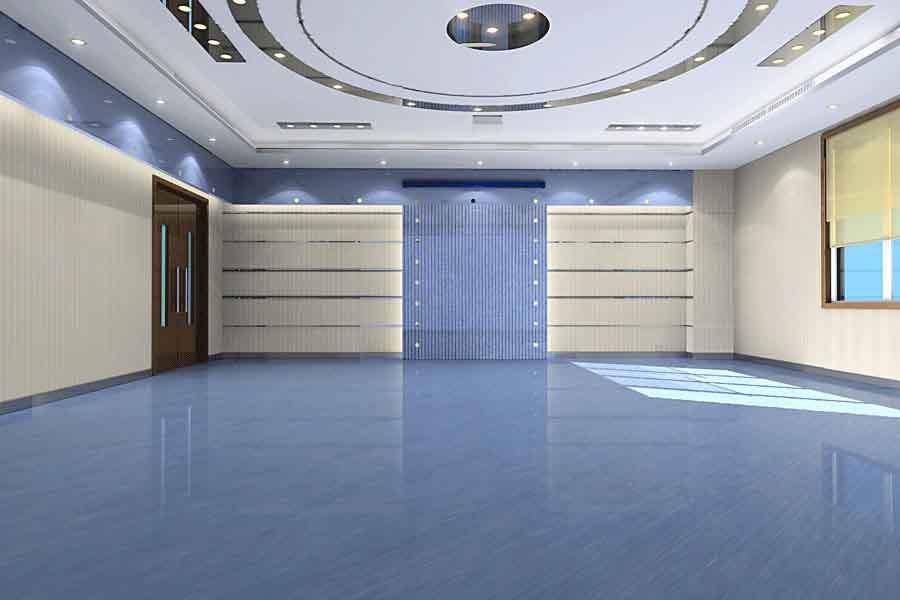 办公走廊地板砖效果图办公室地板砖效果图图片14