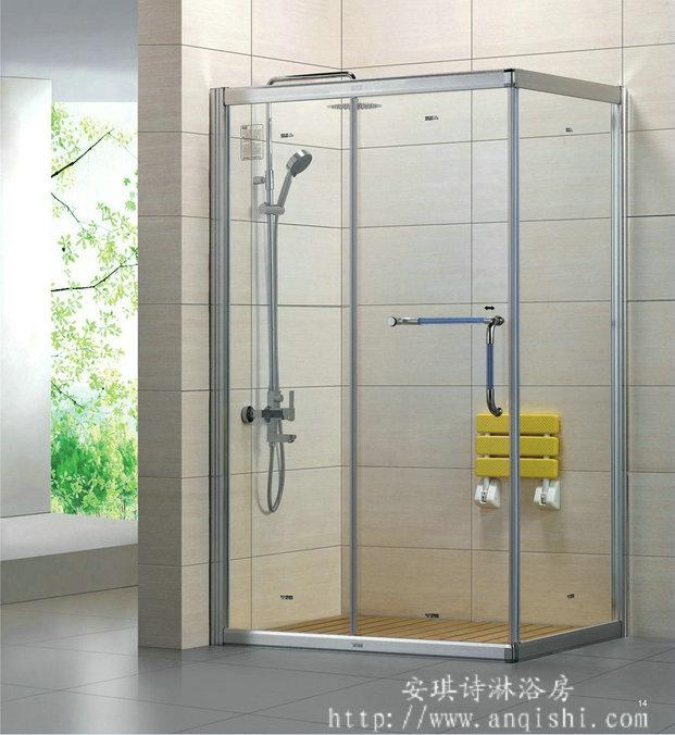 方型【铝合金淋浴房】精装修淋浴房招商加盟