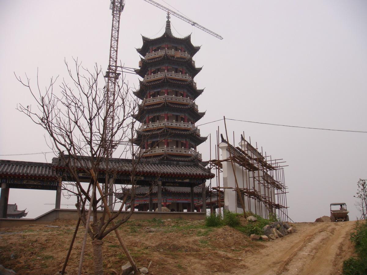 仿古宝塔的设计施工-------殷祖古建
