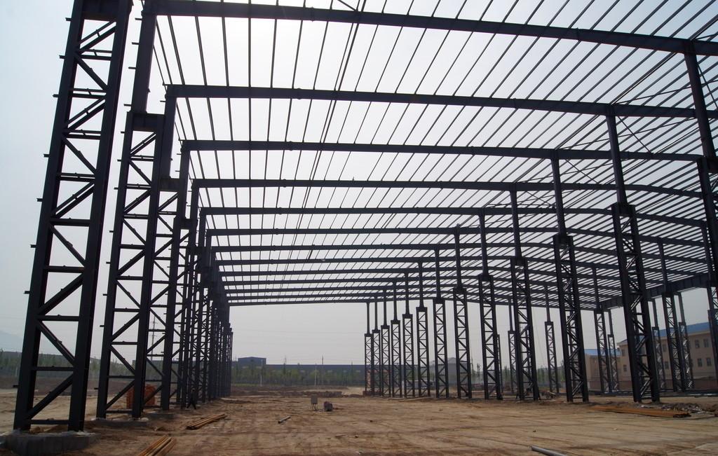 慈溪钢结构工程安装价格,钢结构标准厂房-【效果图,图