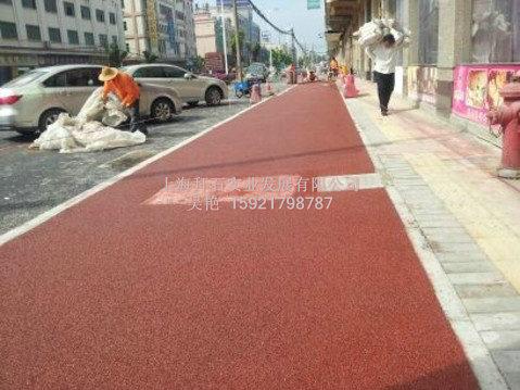 供应杭州无锡市政彩色透水砼-生态透水地坪