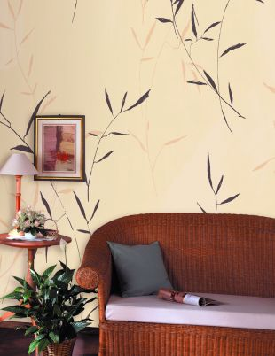 pvc中式风格墙纸_高档无纺纸环保家装墙纸图片