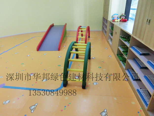 【广东幼儿园图案型地板胶卡通幼儿园地板拼图】今