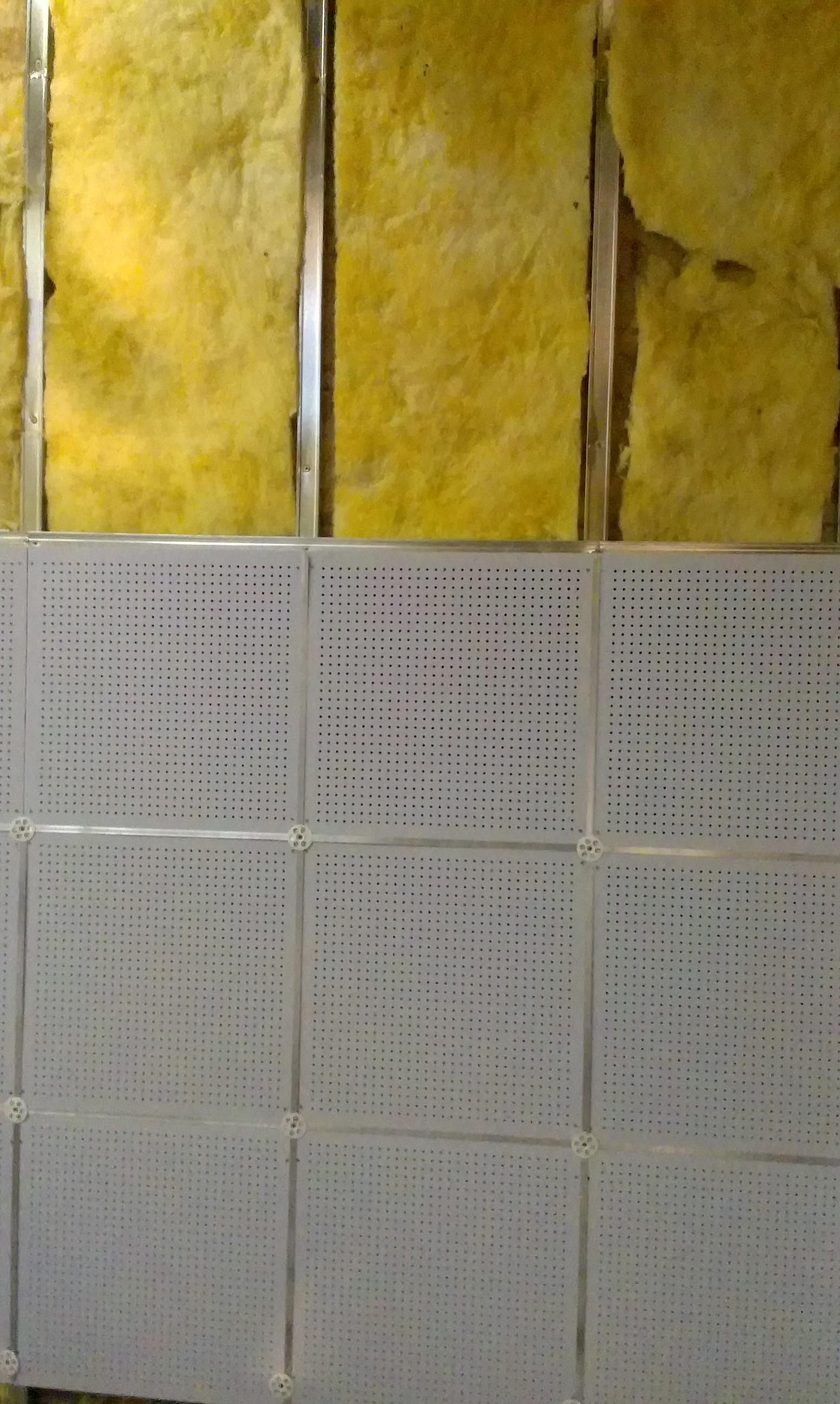 600*600*15穿孔吸音复合板 价格  图片做法