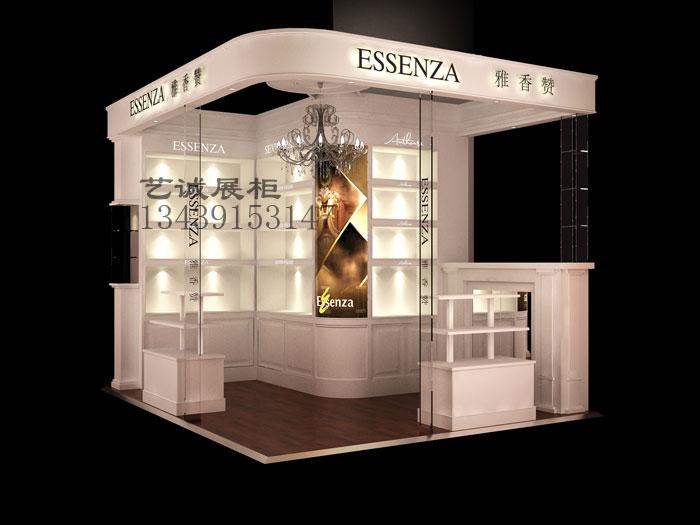 北京展柜 展柜制作 化妆品展柜制作