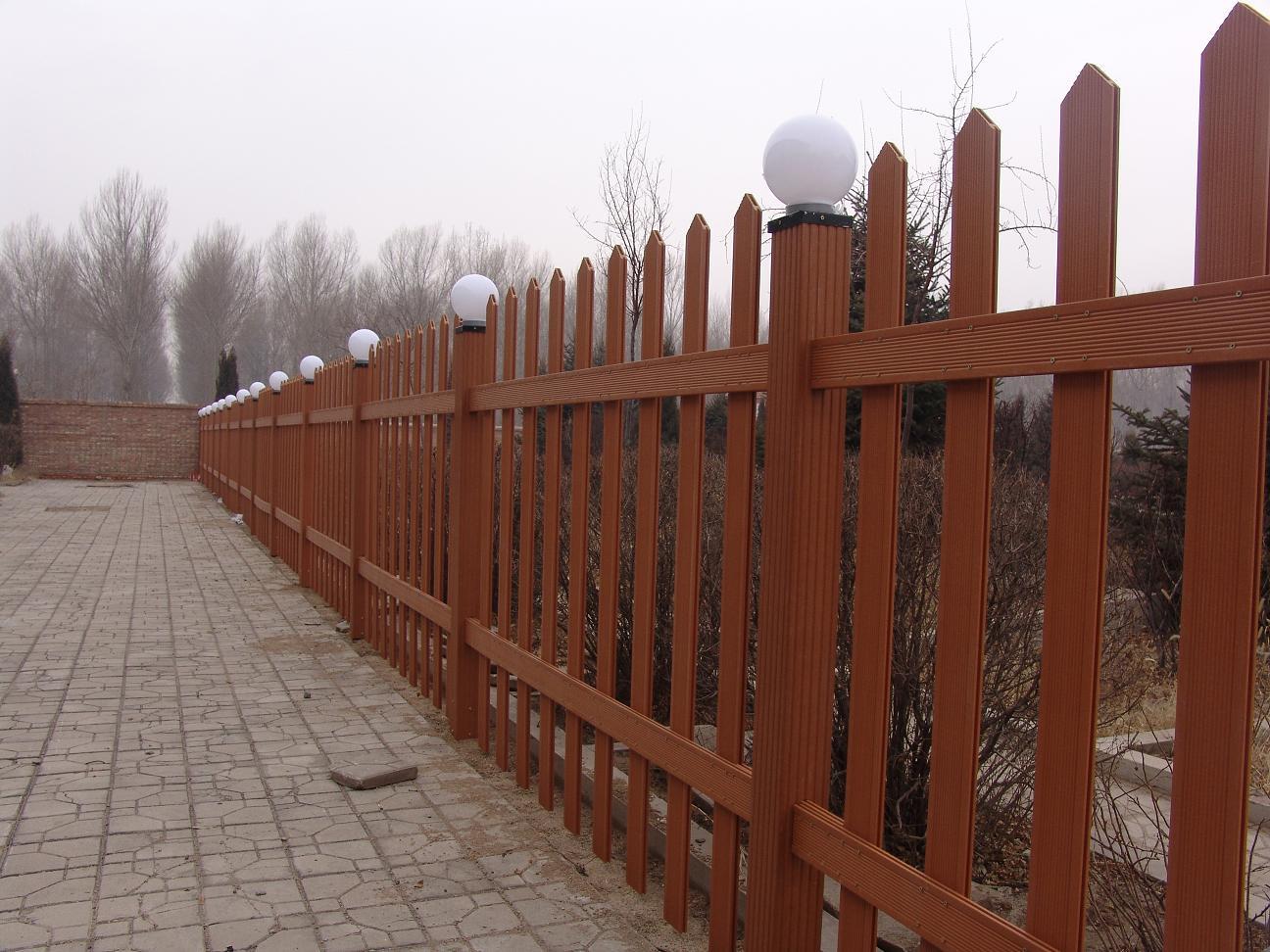 安徽合肥木塑栅栏厂家,木塑围栏,木塑花架葡萄架,木塑景观凉亭