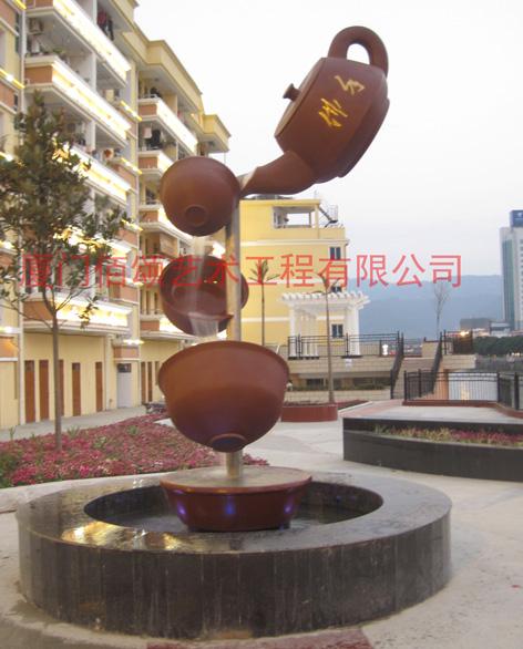 景观雕塑,喷泉雕塑