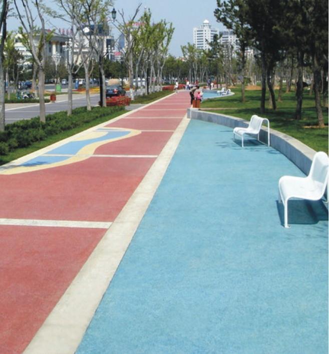 供应上海透水地坪-透水混凝土-彩色透水砼