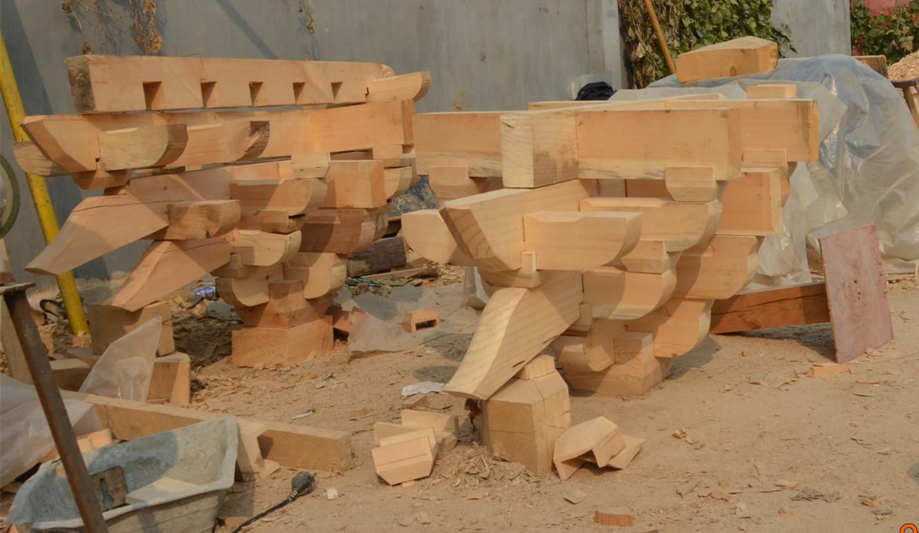 供应古建水泥斗拱|仿古木斗拱上门安装