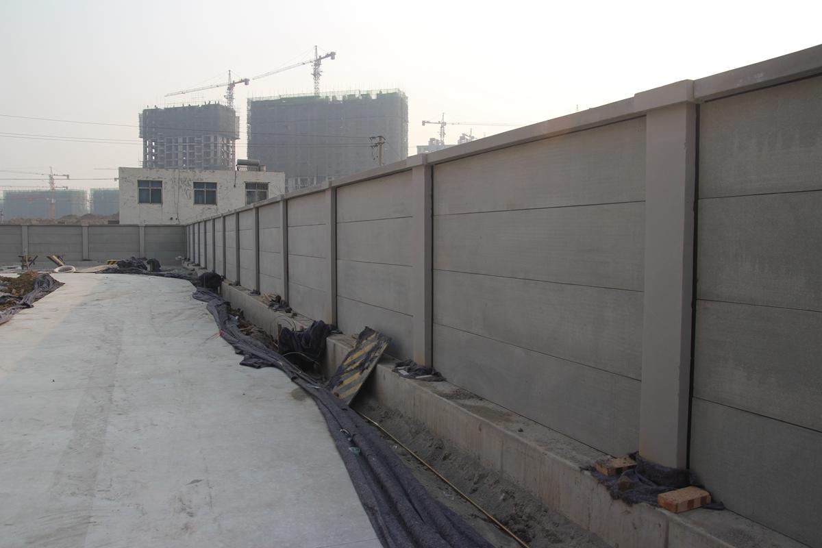 装配式围墙 as板材图片