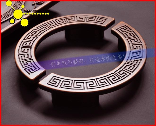 上海宾馆不锈钢大门拉 大堂不锈钢拉手