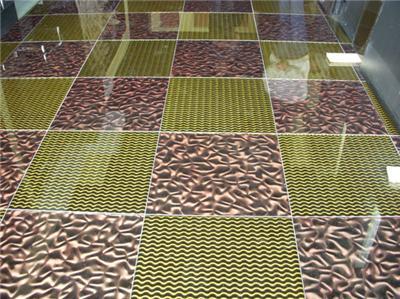 地板玻璃 立体玻璃砖-【效果图