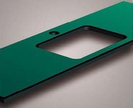 供应天润墨绿实芯理化板