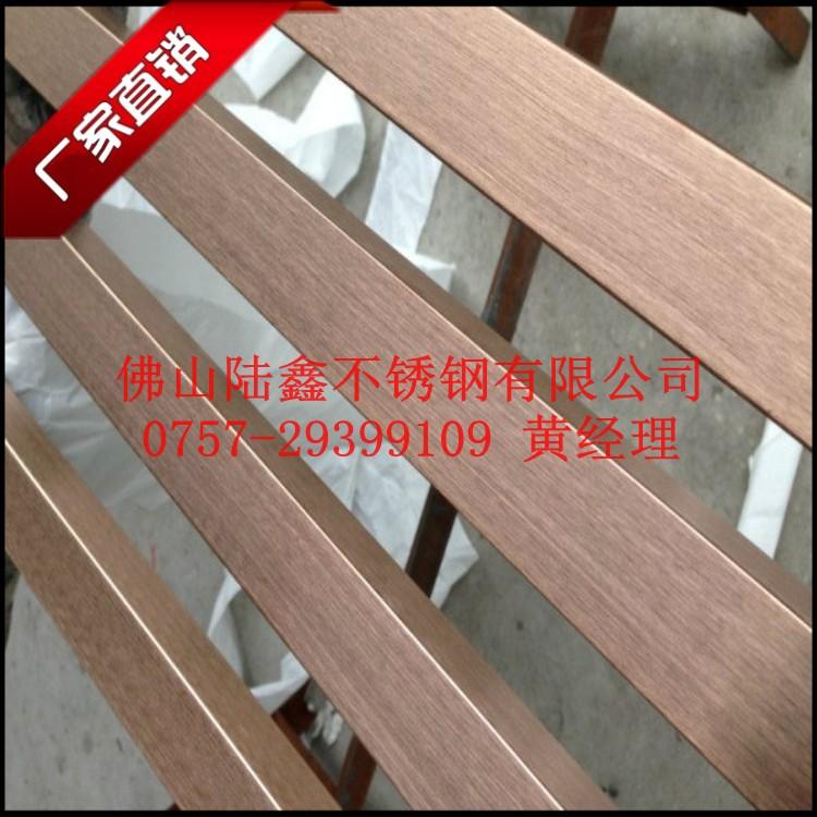 201材质-玫瑰金不锈钢方管16*16mm价格