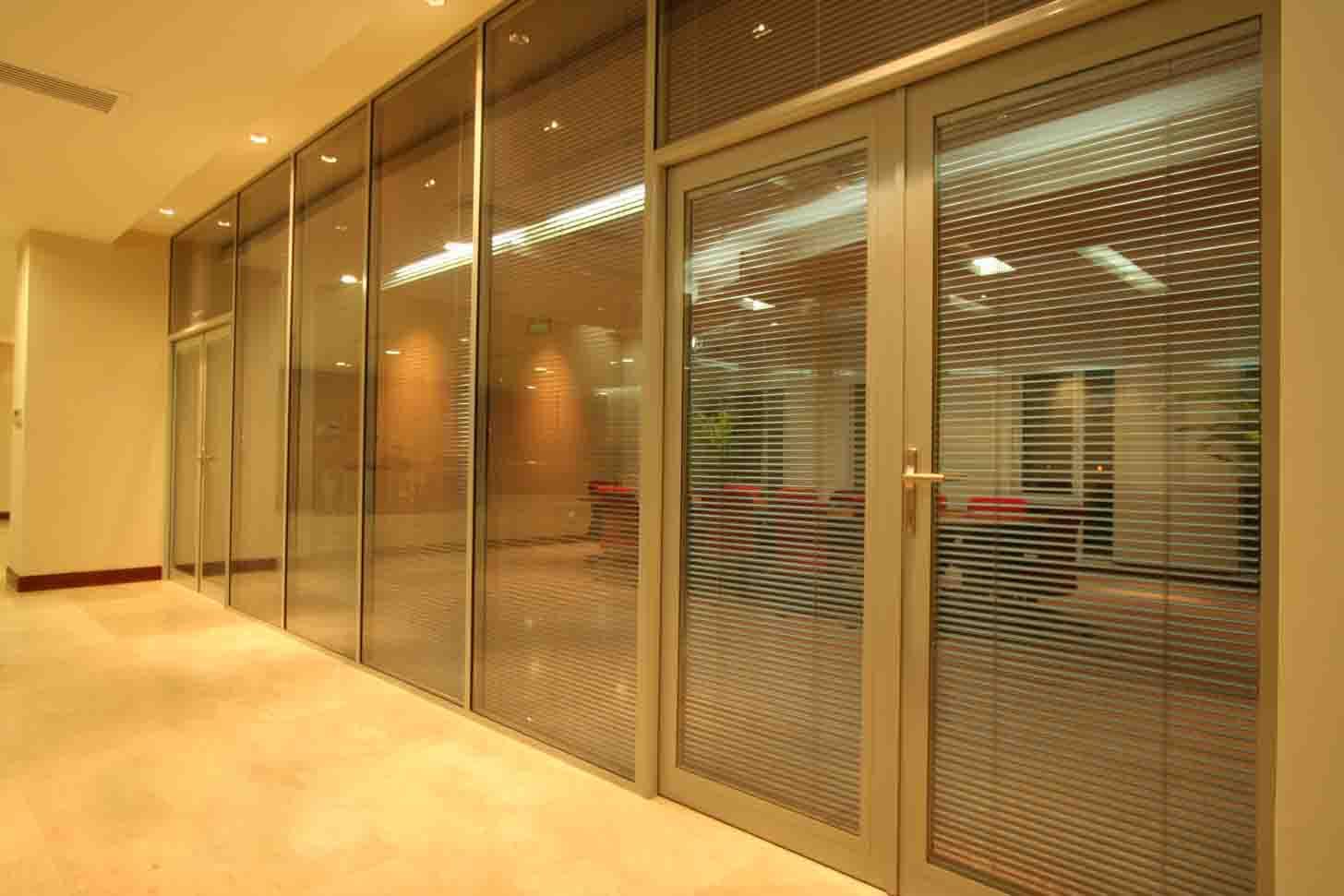 盐城舒尔美双层玻璃隔墙