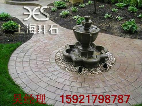 供应深圳广西彩色压印地坪-压印混凝土