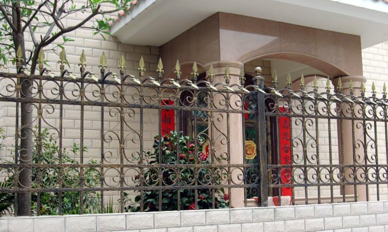 围栏,家装围栏,锌钢围栏,铁艺围栏