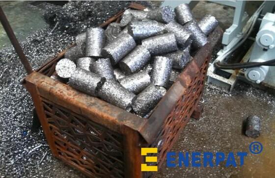 供应铁屑压块机