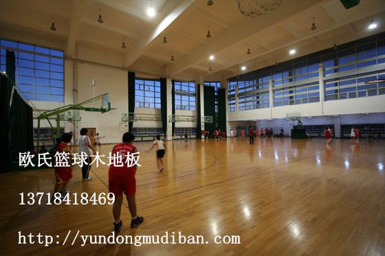 篮球场专用木地板,室内篮球馆运动木地板
