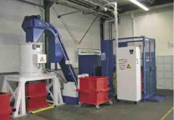 供应离心式铁屑脱油机,CNC金属甩干机厂家