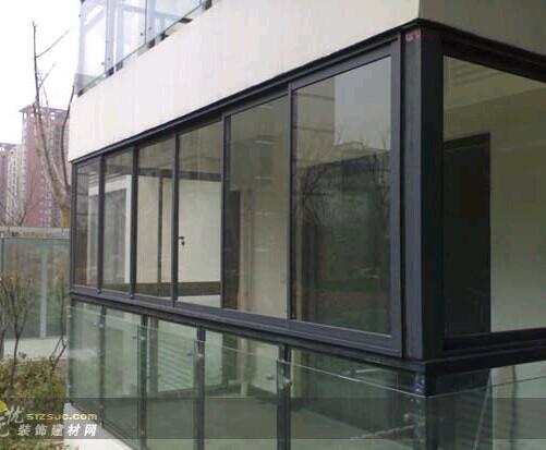 合肥封阳台厂家推拉玻璃窗公司价格