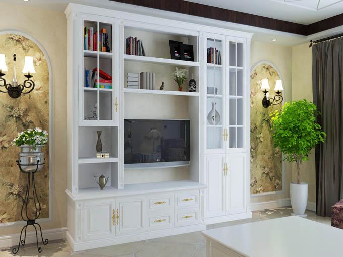 衣帽间,书柜,酒柜,鞋柜,电视柜,床,床头柜等)和定制滑动门(简欧系列图片