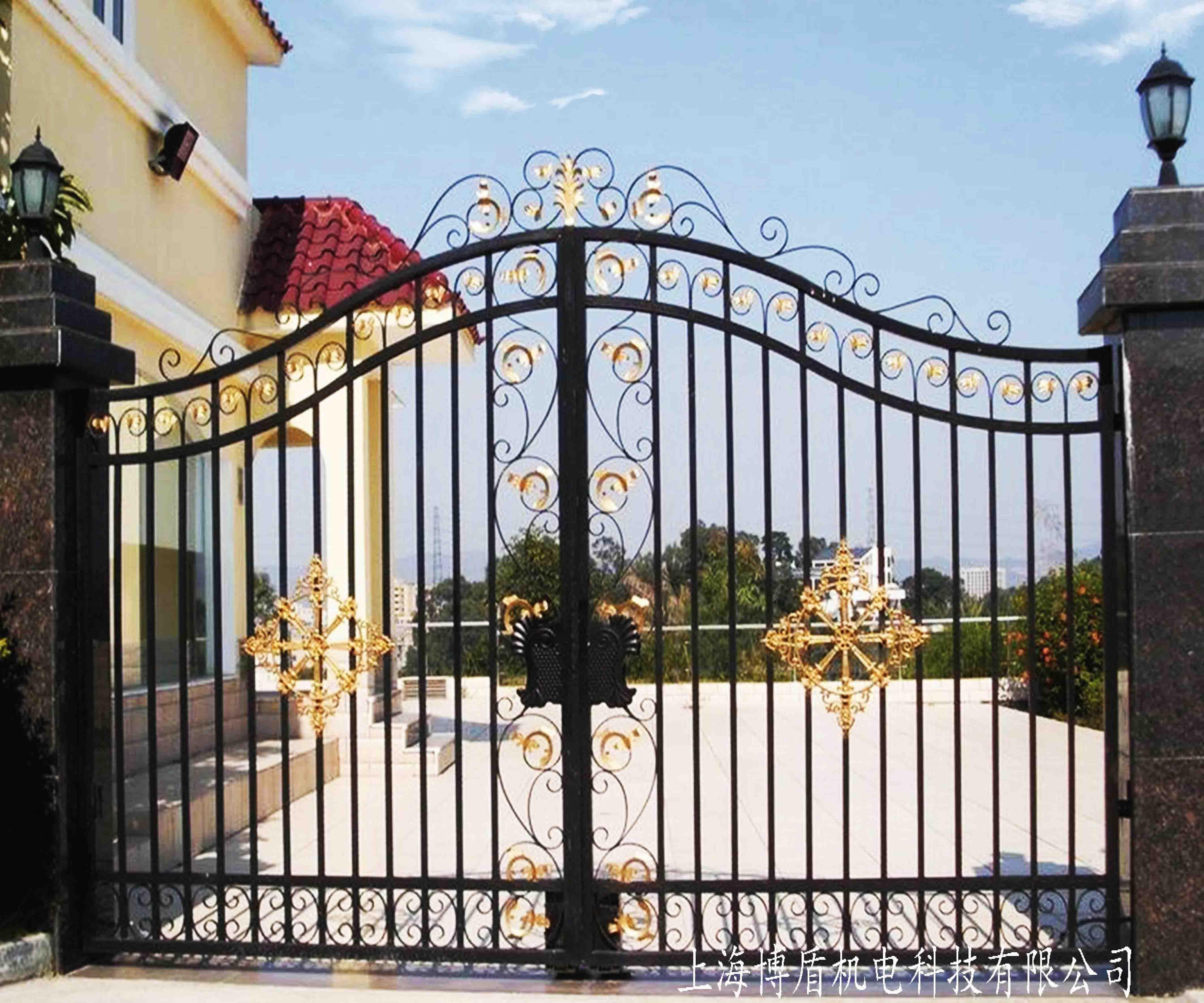 铁艺门,花园铁艺门,式铁艺门