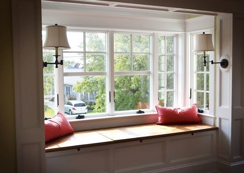 2015年中式铝合金门窗家居装饰效果图