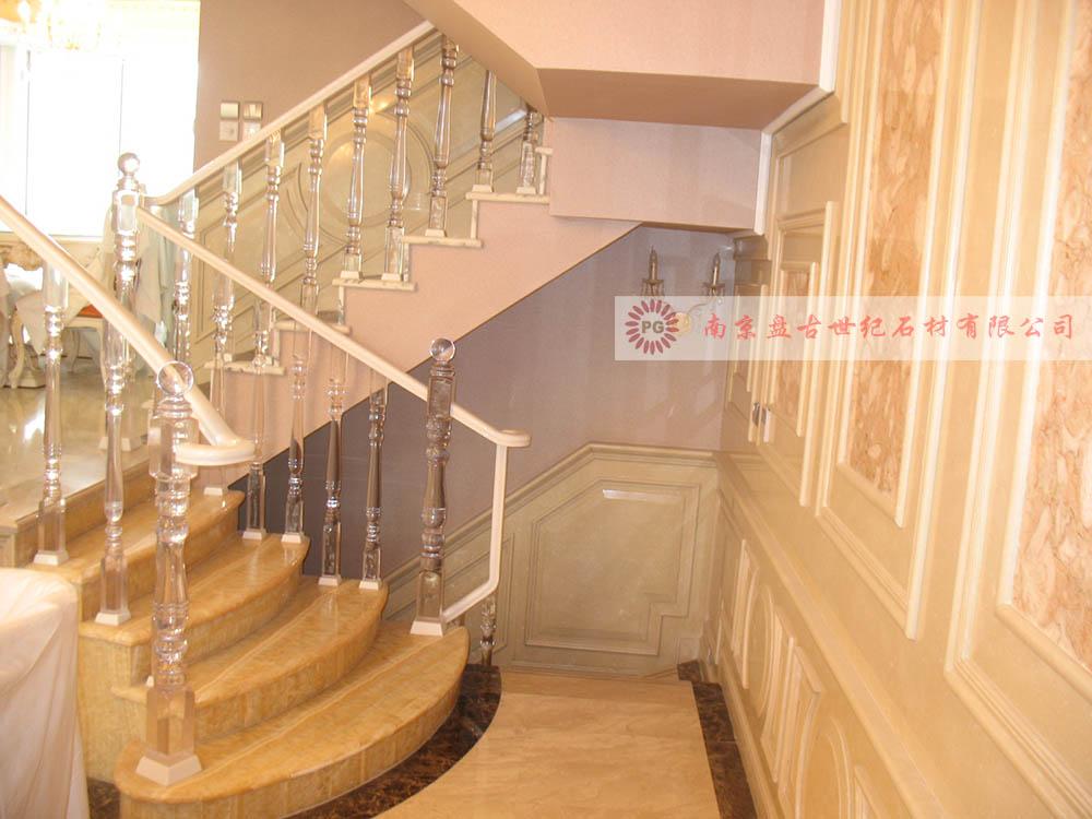 大理石楼梯踏步,复式楼梯,别墅楼梯图片