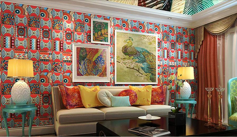 供应地砖客厅手绘砖地中海欧式花砖瓷砖