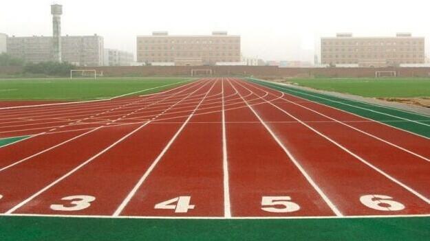 运动塑胶跑道 预制型环保跑道 跑道卷材