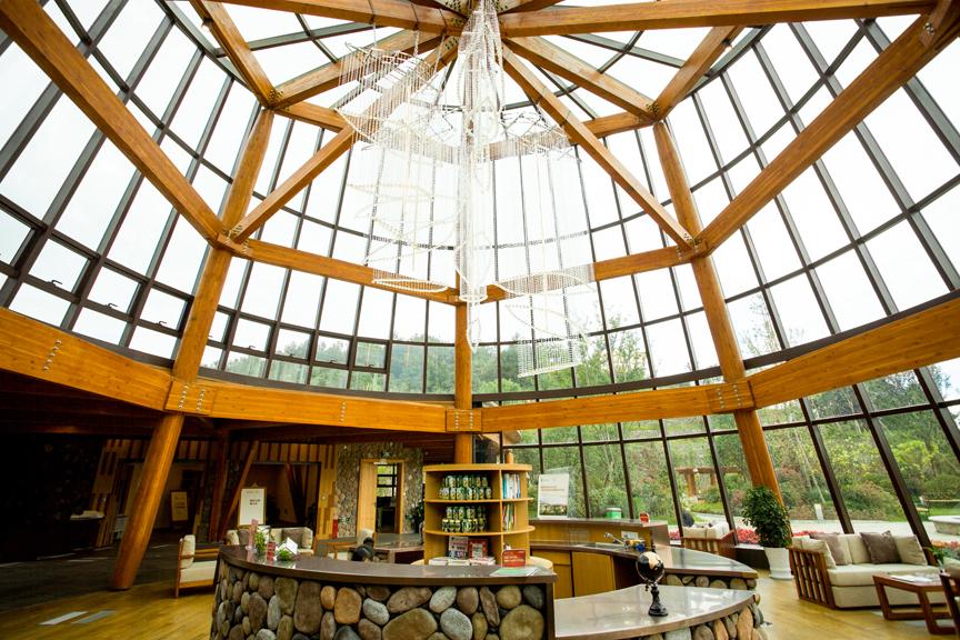 供应木结构建筑--健康管理展示中心