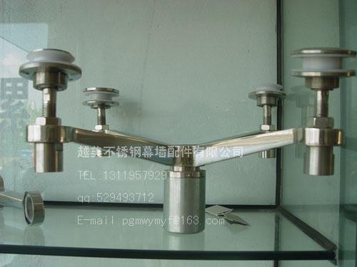 玻璃爪越美不锈钢制品厂