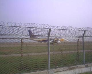 昆明机场Y型刺绳防护网贵州机场防护网价格