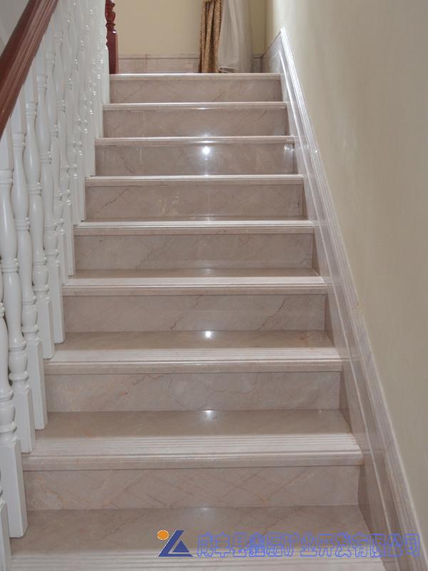 别墅装饰石材,家装别墅楼梯专用石材