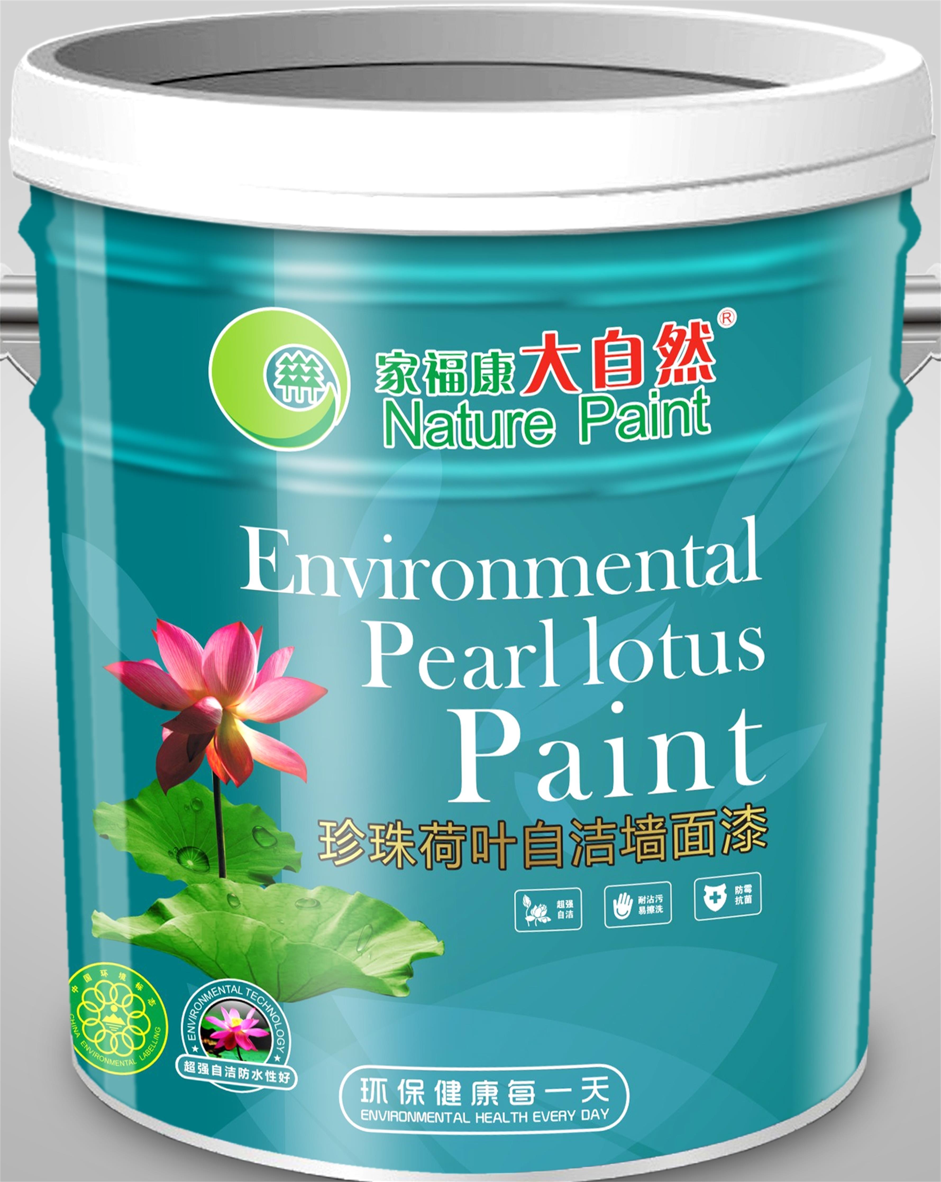 中国十大涂料品牌大自然漆净味全效墙面漆