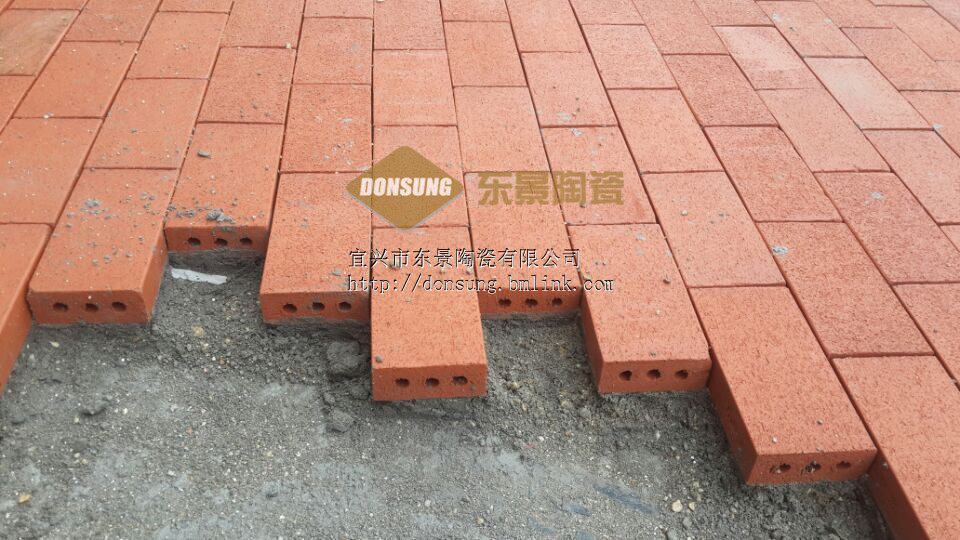 【廠家推薦】燒結磚 陶土磚 廣場磚
