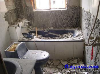 苏州平江区卫生间渗水维修拆除浴缸改淋浴房