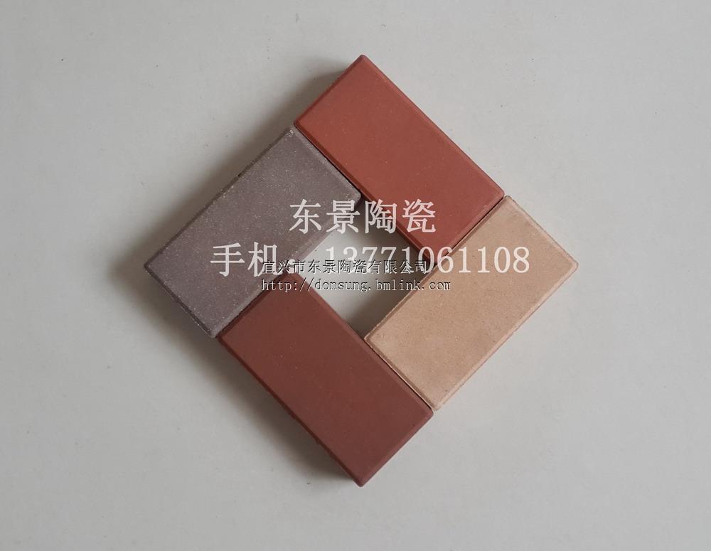 陶土磚 燒結磚 紅色 棕色 黃色 灰色