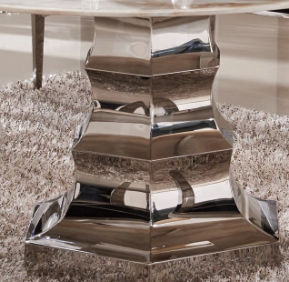 不锈钢餐桌家具欧式家具不锈钢制品